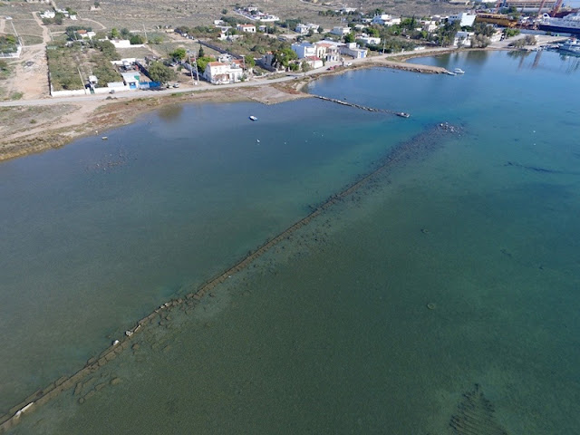 More on the discovery of ancient military harbour used in Battle of Salamis