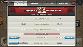 Clan TARAKAN 2 vs FIRE OF SITAIL, TARAKAN 2 Victory