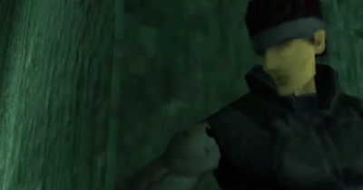 Solid Snake Metal Gear Solid facial features lack of face faceless PlayStation 1 PSX