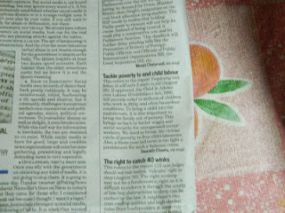 saurabh chawla letter published in hindustan time 29 August 2012