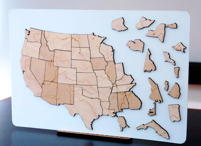 15+ Of The Best Traveler Gift Ideas Besides Actual Plane Tickets - Usa Magnet Map