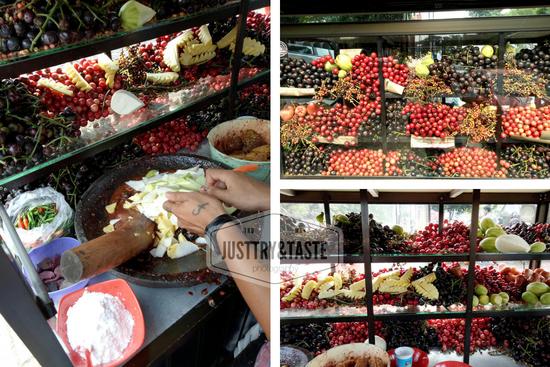 rujak buah Bogor JTT
