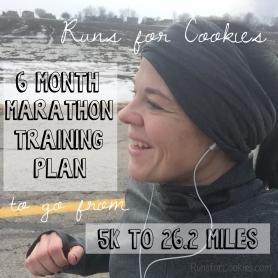 Training Plan to Run a Marathon in Six Months