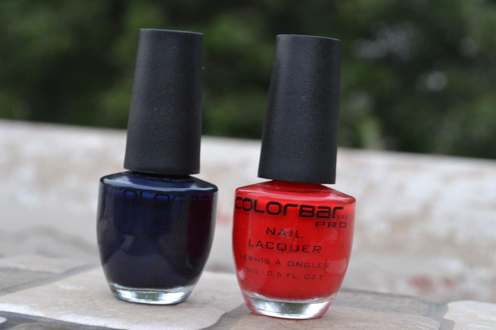 Colorbar Pro nail lacquer