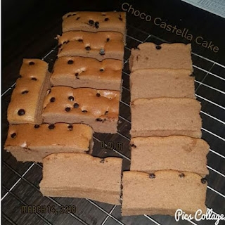 Resep Choco Castella Cake