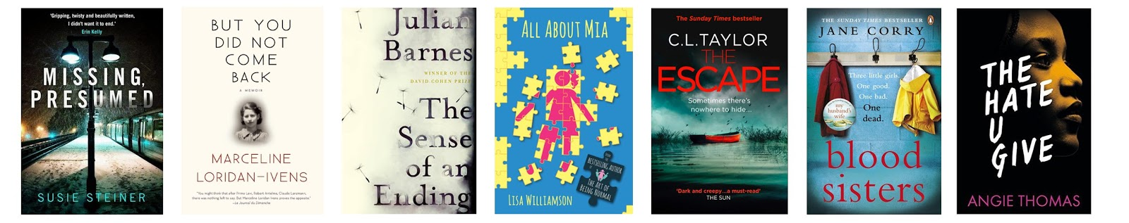 Goodreads: April Recently Read