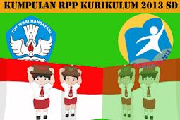 RPP Kelas 4 SD/MI Kurikulum 2013 Semester Genap Semua Tema Dan Sub Tema