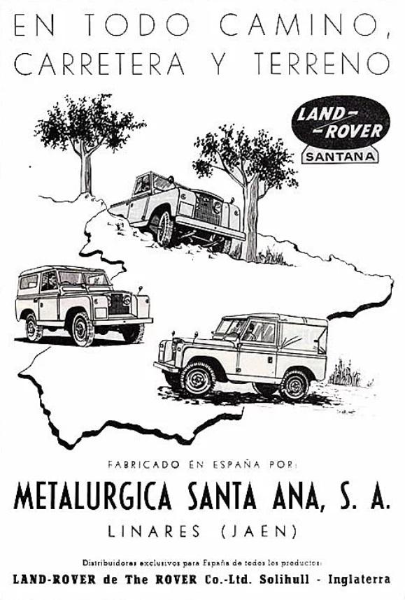 LAND ROVER SANTANA: LAND ROVER PREPRODUCCIÓN 1948
