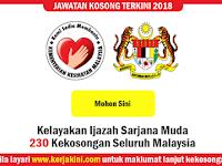 Jawatan Kosong Kementerian Kesihatan Malaysia (KKM) - 230 KekosonganTerkini Seluruh Malaysia