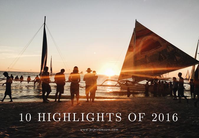 10 Highlights of 2016