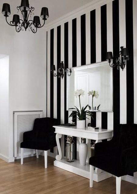 Rayas, ideales para dar vida a tus paredes