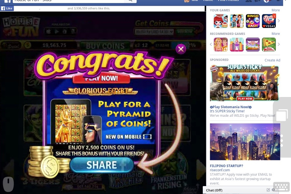 house of fun slots promo codes