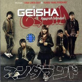Chord Gitar Lagu Geisha