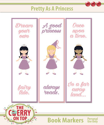 Princess Bookmarkers