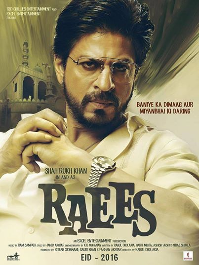‎Raees‬ first look trailer poster image wallpaper