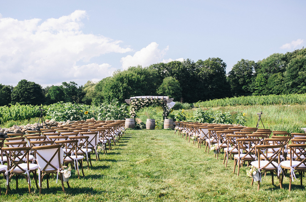 Chamard Vineyards Wedding Venues