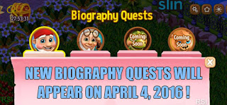 New Biography Quests for Royal Story