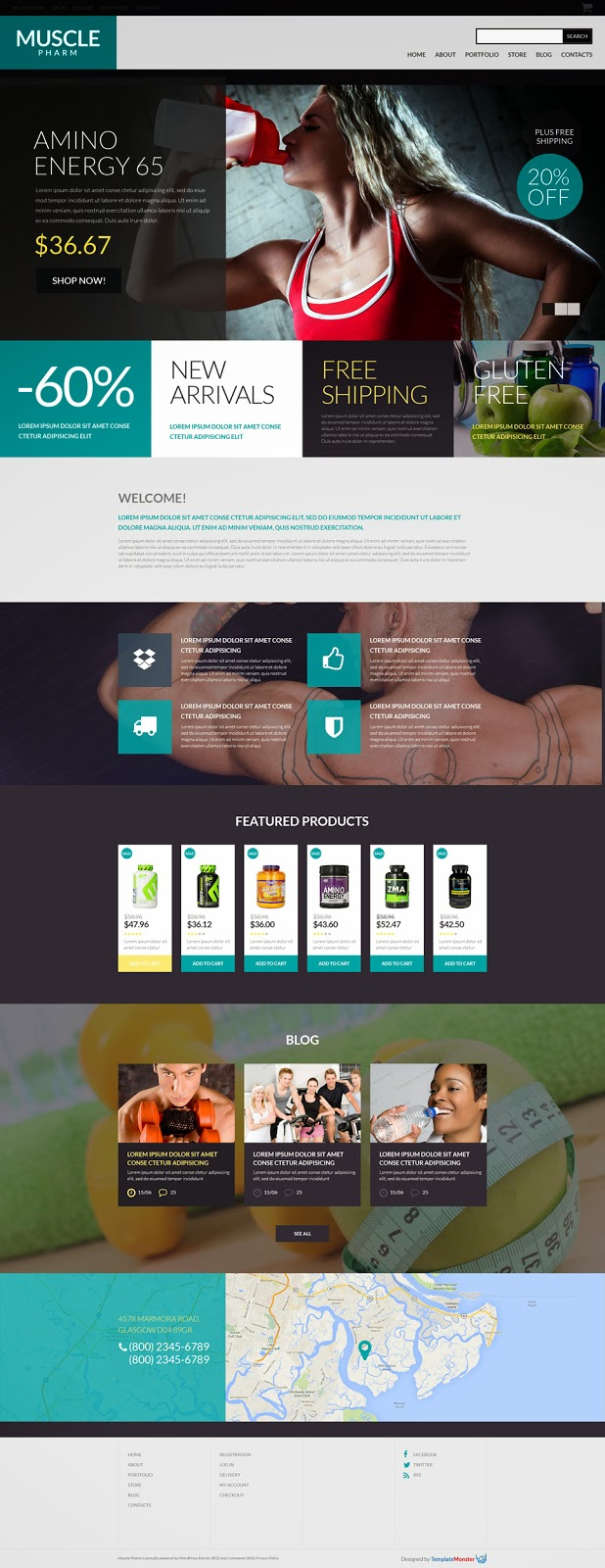 Download Free WooCommerce Theme for Drug Store