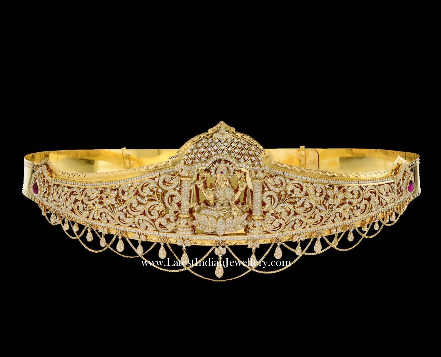 Luxurious Bridal Diamond Vaddanam