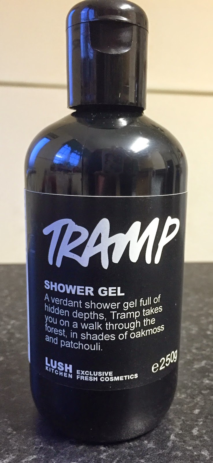 All Things Lush UK Tramp Shower Gel