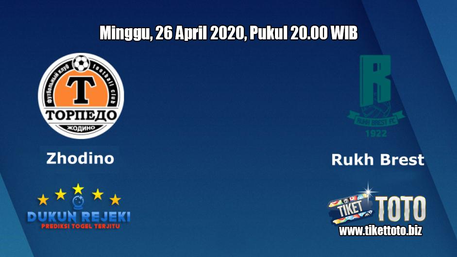 Prediksi Zhodino VS Rukh Brest 26 April 2020