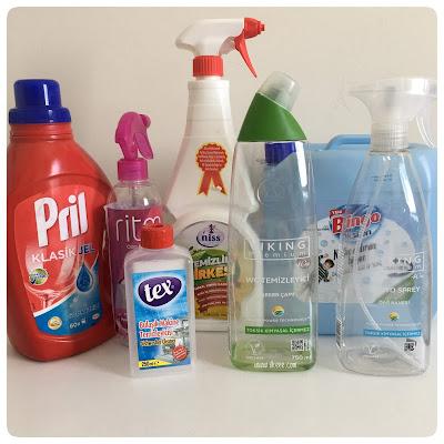 Viking Premium Serisi, Bingo Oksijen, Çamaşır Suyu, Pril Klasik Jel, Nish Hygienic, Tex, Makine Temizleyici