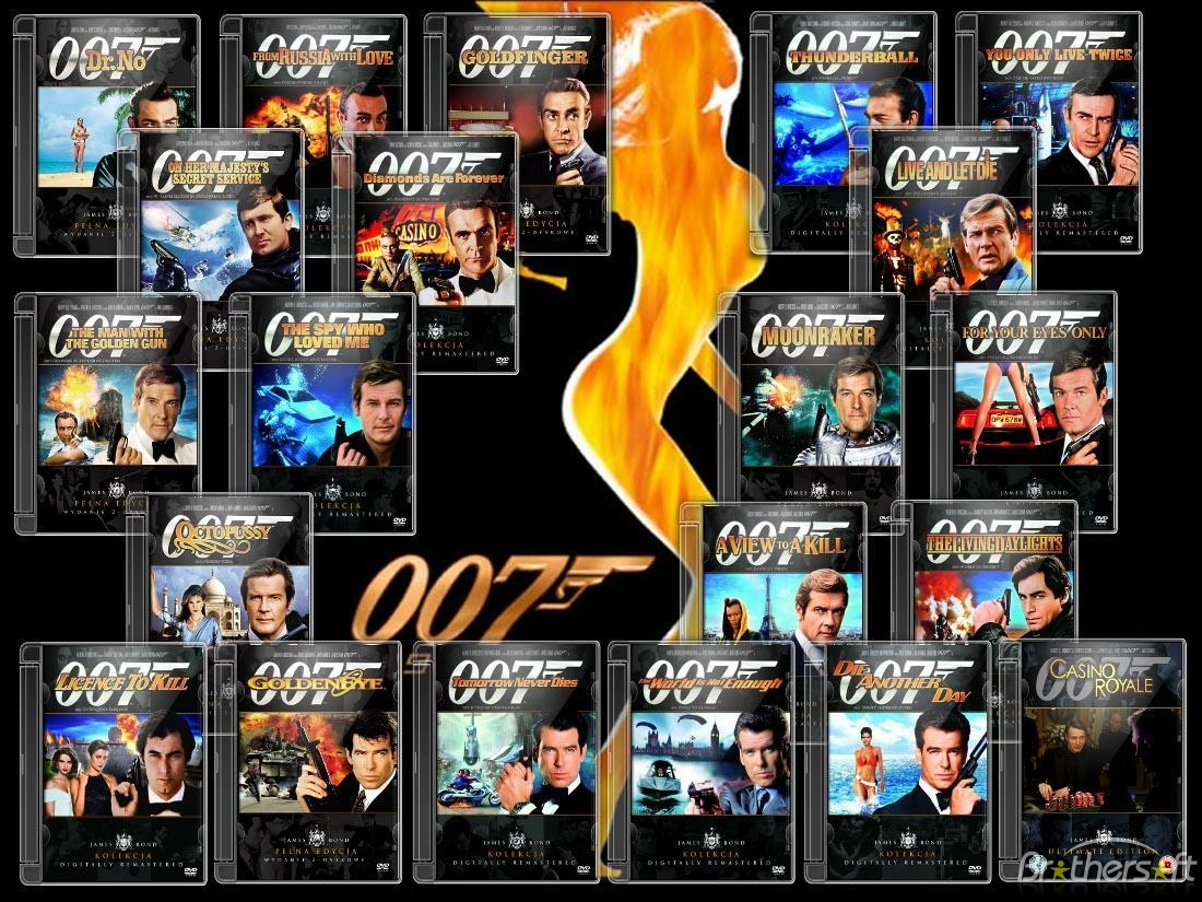 James Bond 007  (1962- 2012) Collection ταινιες online seires oipeirates greek subs