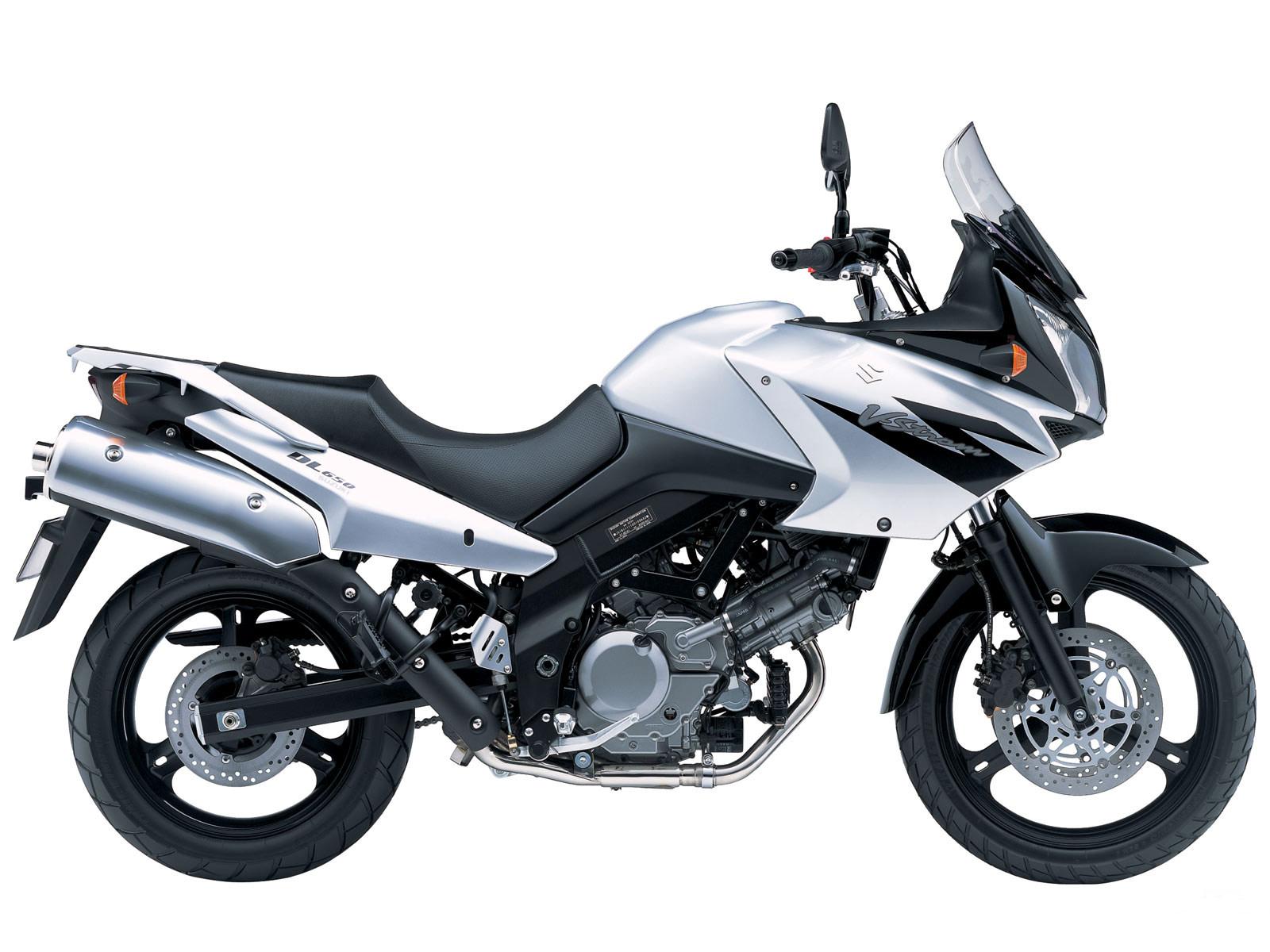 2005 Suzuki V Strom 650 Motorcycle Desktop Wallpaper