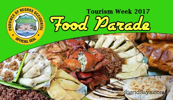 Negros Occidental Tourism Week Food Parade 2017