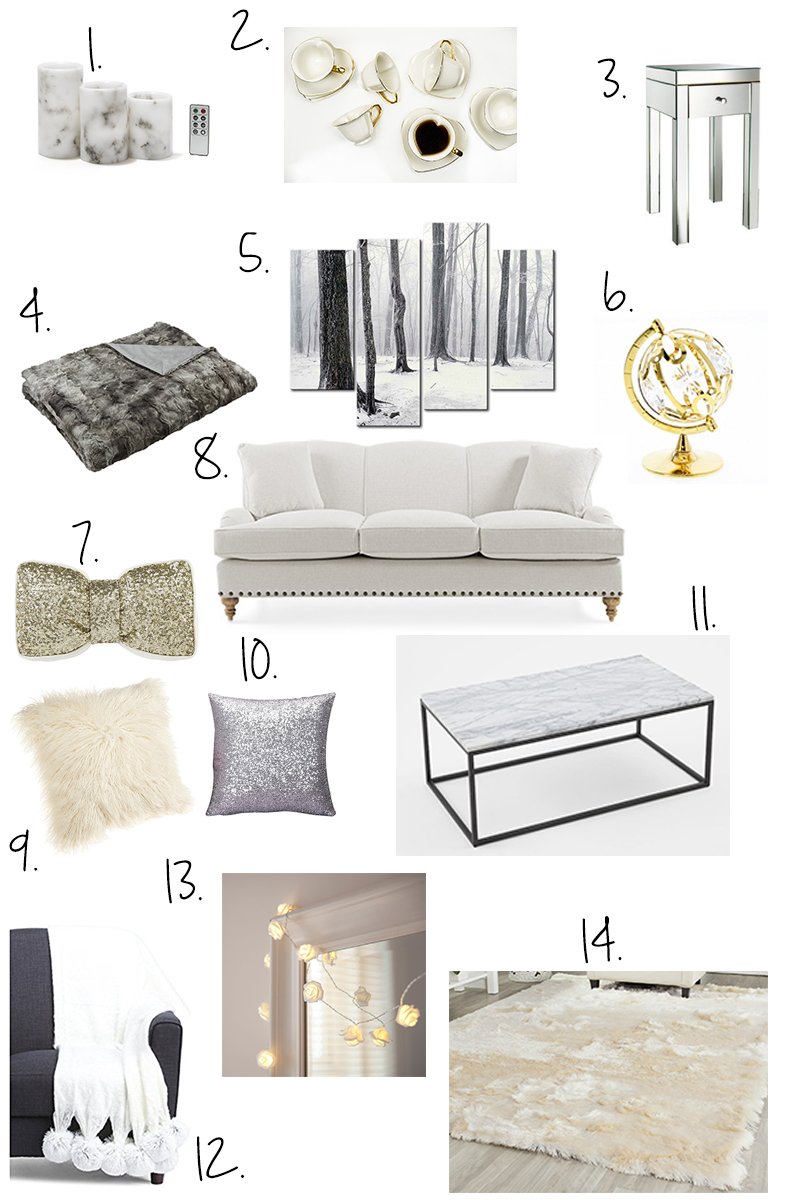 My Dream Living Room | Global Fashion Gal