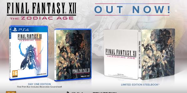 Final Fantasy XII: The Zodiac Age ya disponible para PS4 con todas sus mejoras