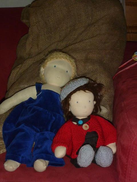 Jungen Puppen