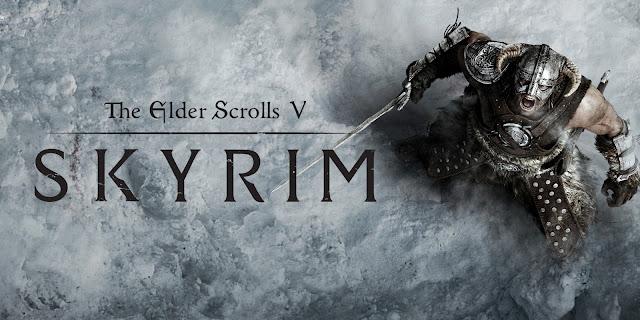 The Elder Scrolls V: Skyrim está em primeiro lugar da lista.