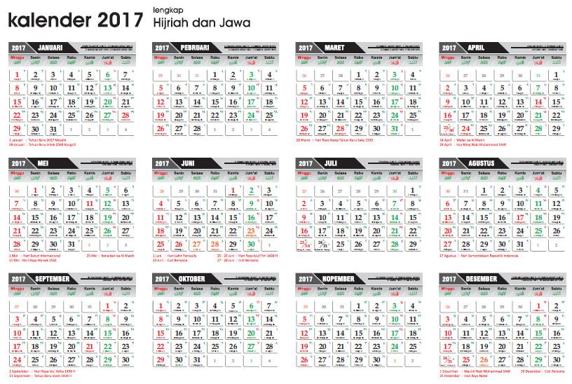 Jawa 2017 Related Keywords & Suggestions - Penanggalan Jawa 2017 ...