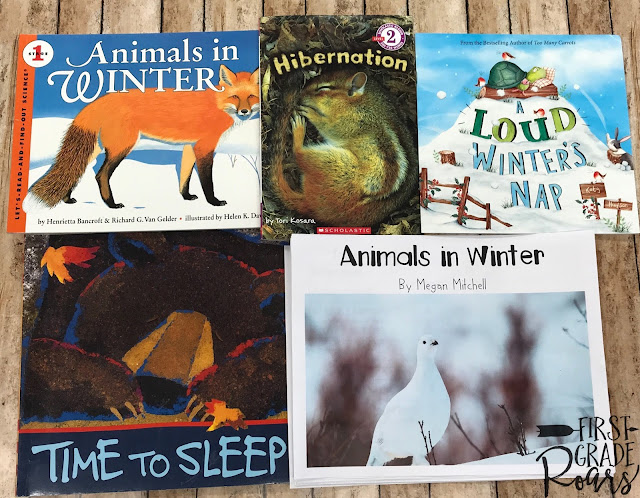 Animals in Winter Guided Reading with a Purpose Week 19