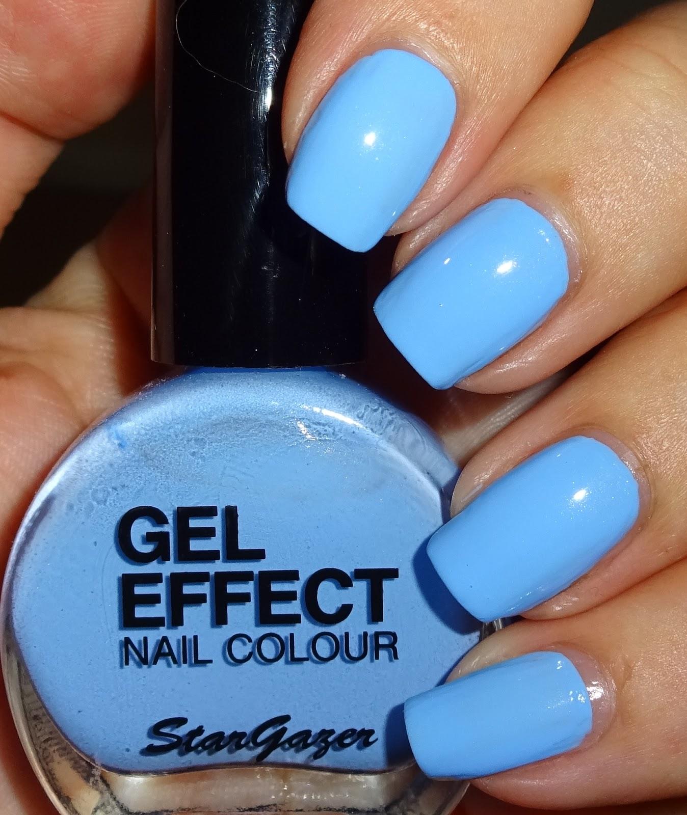 Wendy\'s Delights: Stargazer Gel Effect Nail Polish - Sky