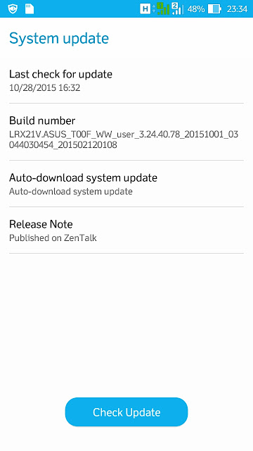 Build number firmware versi 3.24.40.78