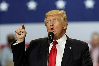 El presidente de EE.UU., Donald Trump, durante un mitin en Louisville (Kentucky), el 20 de marzo de 2017.Jonathan ErnstReuters