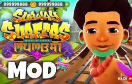 Subway surfers mumbai mod apk  (Unlimited, Unlocked, Adfree, unlimited coins and keys)