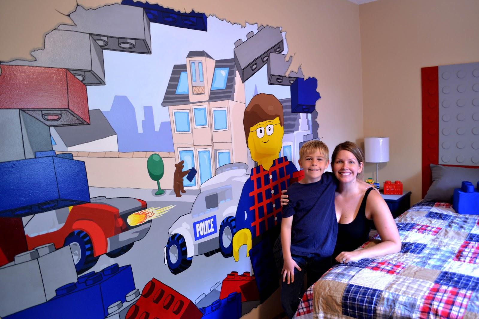 heidi schatze: LEGO Vaughn: Red Bright and Blue