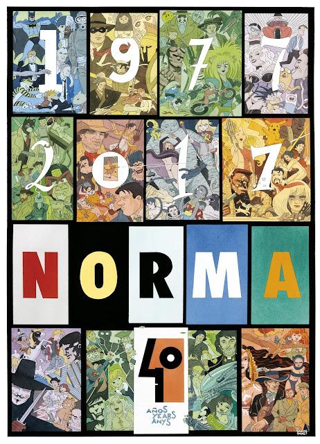 Norma Editorial celebra su 40º aniversario