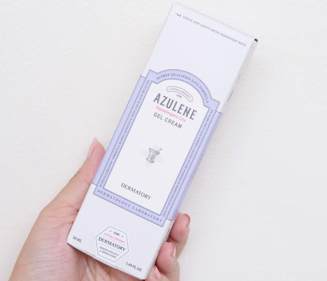 a photo of Dermatory Azulene Gel Cream Review by Nikki Tiu of www.askmewhats.com