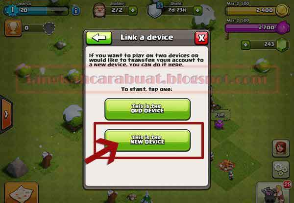 Cara Memindahkan Akun COC Dari Android ke iPhone