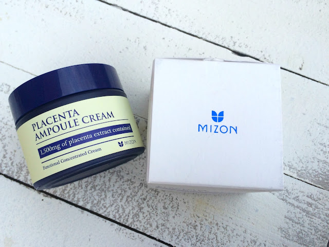 Mizon Placenta Ampoule Cream Review Libbie Club August Box
