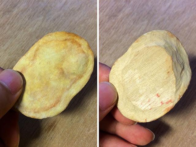 realistic wood carving food by Seiji Kawasaki