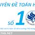 Ấn phẩm chuyên đề toán số 10 của trường PTNK Đại học Quốc gia TP HCM