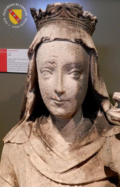 PONT-A-MOUSSON (54) - Musée au Fil du Papier : Vierge du Pont (1729)