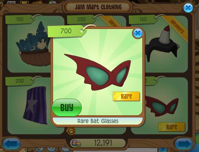 Animal jam fan blog rare bat glasses - How to get a bat on animal jam ...