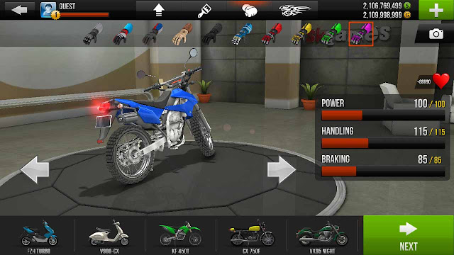 cheat traffic rider mod apk android
