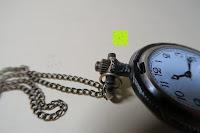 """Krone: AWStech Vintage """"one piece"""" Schädel Skelett Skull Quarz Tachenuhr Pocket Watch mit Halskette, Big Size, Beste Willkommen Geschenk"""